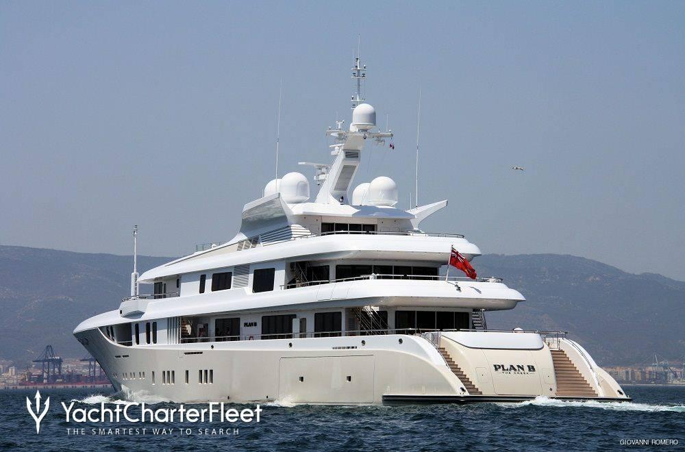 Plan B Yacht Adm Shipyards Yacht Charter Fleet