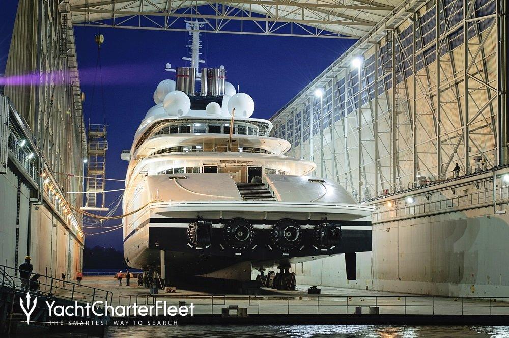 Azzam Yacht Lurssen Yacht Charter Fleet
