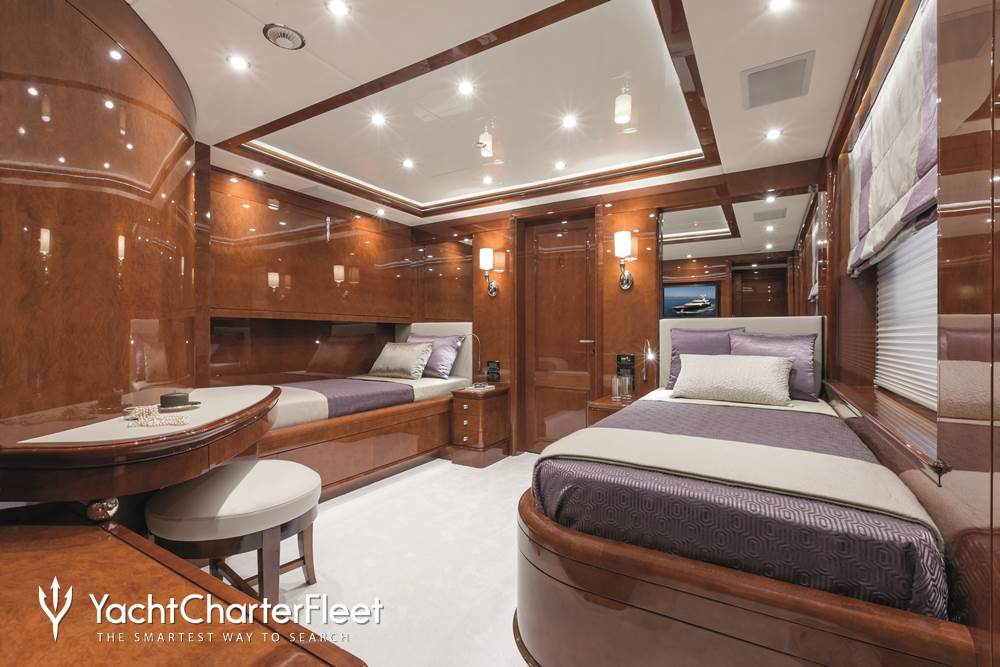 Checkmate yacht charter price benetti luxury yacht charter for Migliori cabin charter in wisconsin