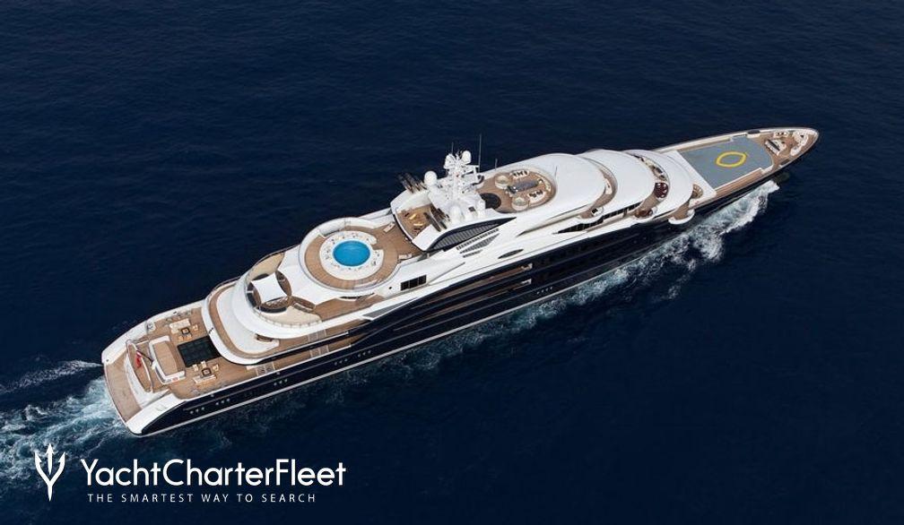 SERENE Yacht Charter Price