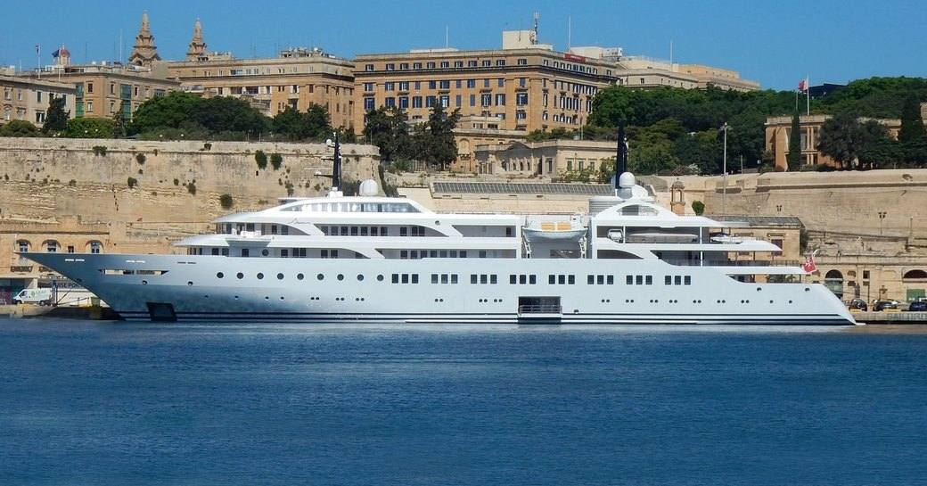 World Exclusive: New 106m Greek superyacht DREAM delivered to her