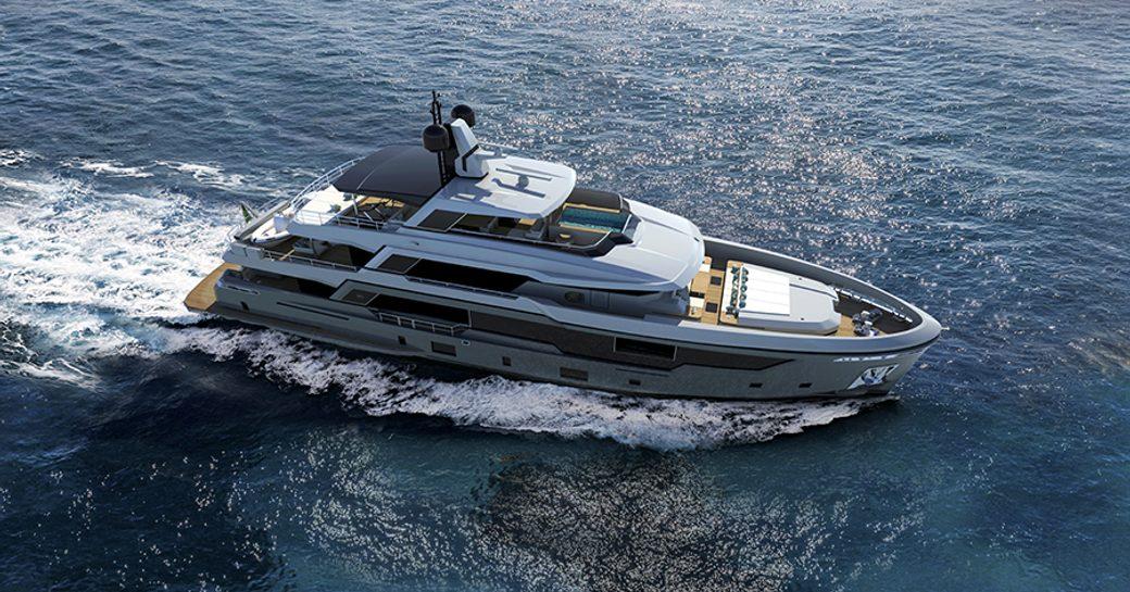Explorer yacht EMOcean on water