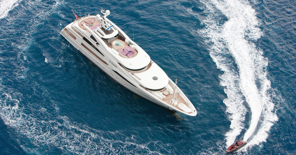 Seychelles yacht charter special offered by 60m luxury yacht 'St David' photo 18
