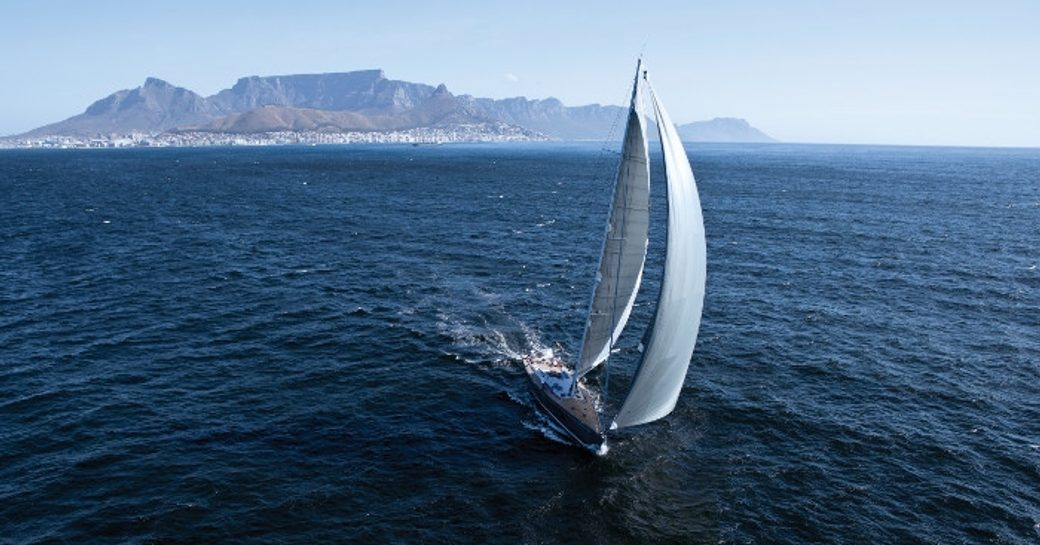 sailing yacht Windfall cruises the Caribbean on charter