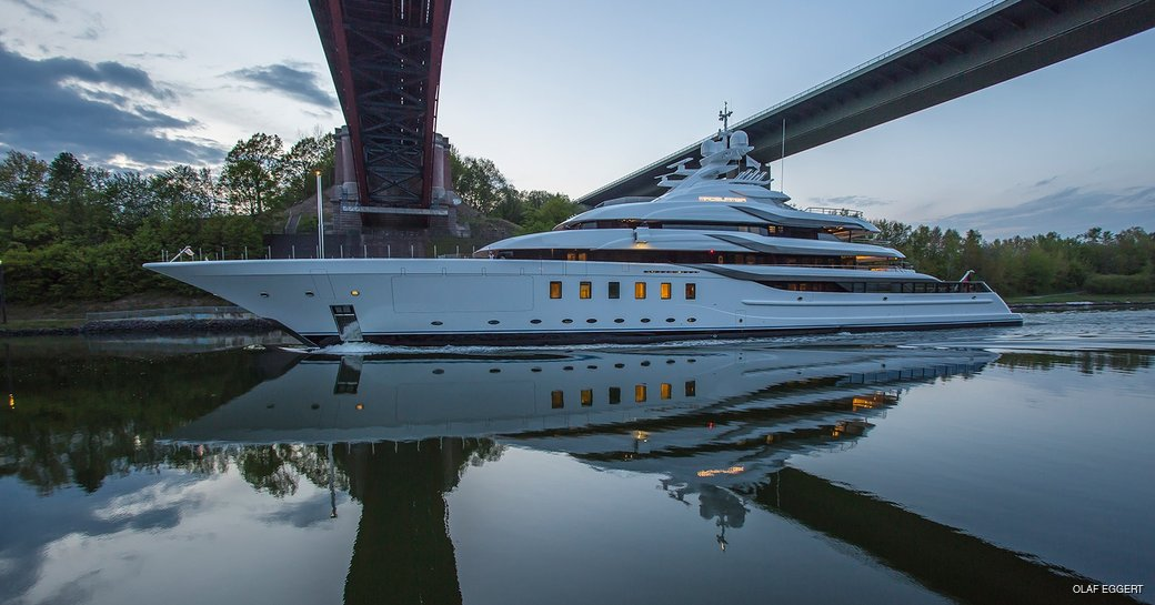 Owner takes delivery of Lurssen superyacht MADSUMMER photo 2