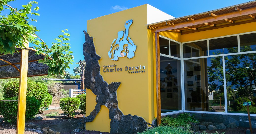 Carles Darwin Research Centre on Santa Cruz, Galapagos