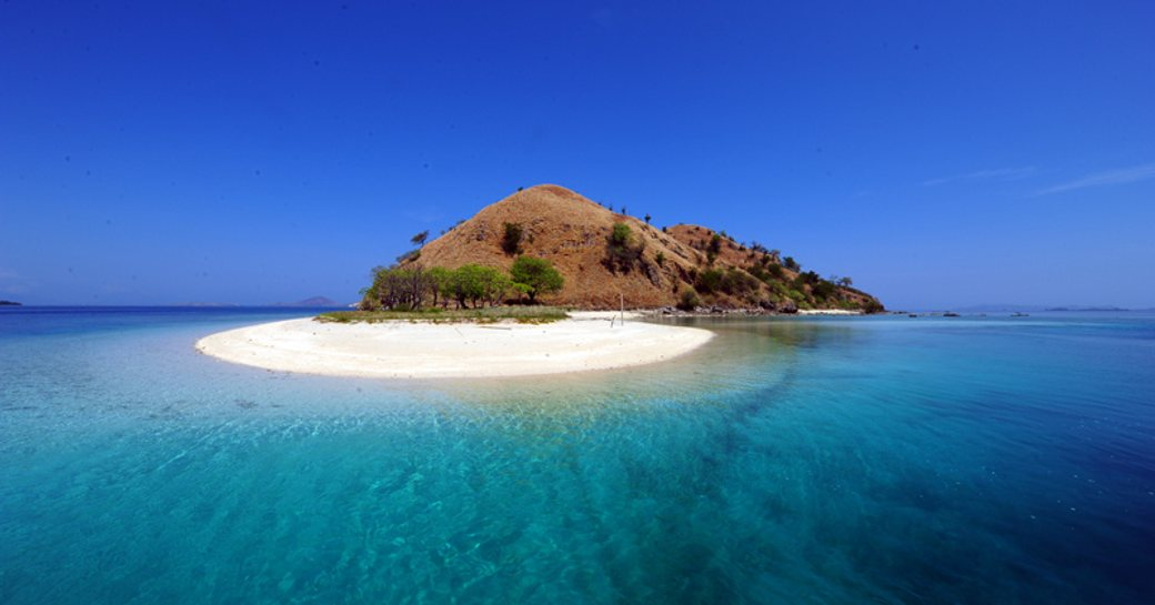 A secluded island in Flores, Indonesia