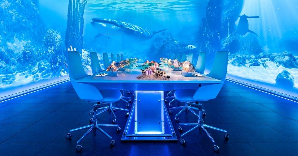Ice bar in Ibiza