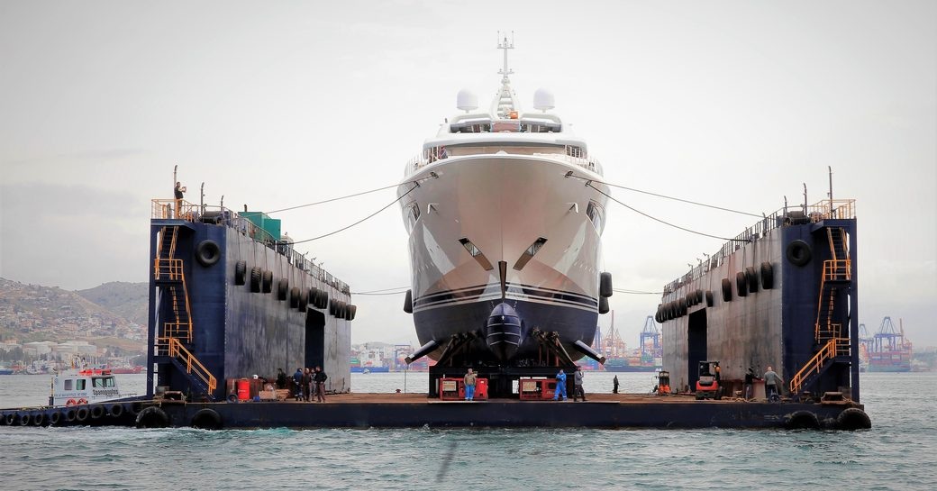 95m charter yacht O'PARI launches in Greece photo 14