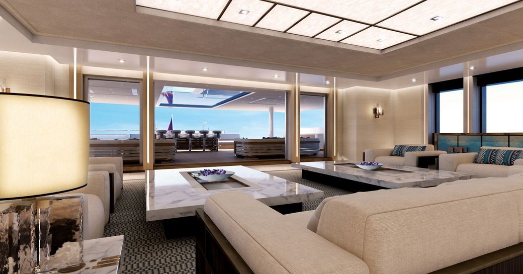 New renderings paint a picture of serenity aboard 88m megayacht 'Illusion Plus' photo 8