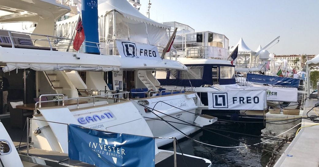 Charter yachts in Cannes for MIPIM