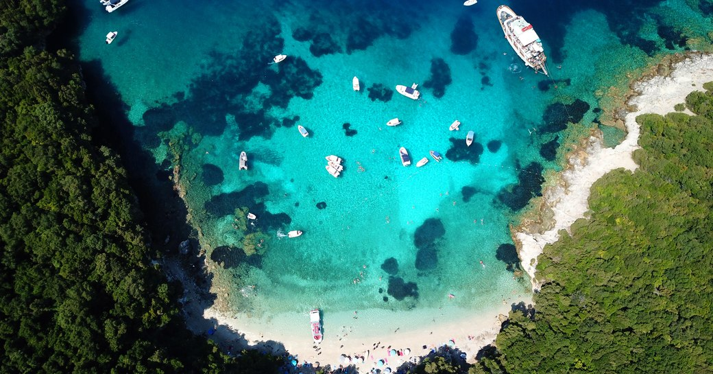 Croatia blue lagoon