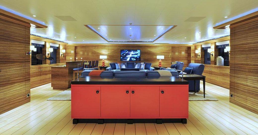 Stylish decor on TV