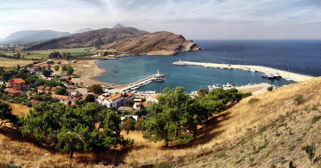 wildly beautiful island of Gökçeada in Turkey