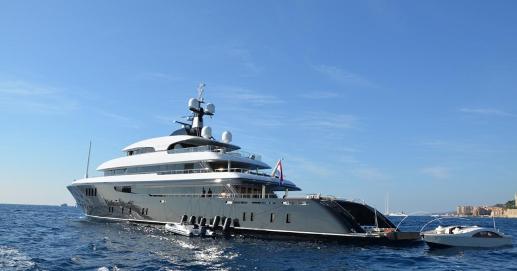 Superyacht Icon at the Monaco Yacht Show 2014