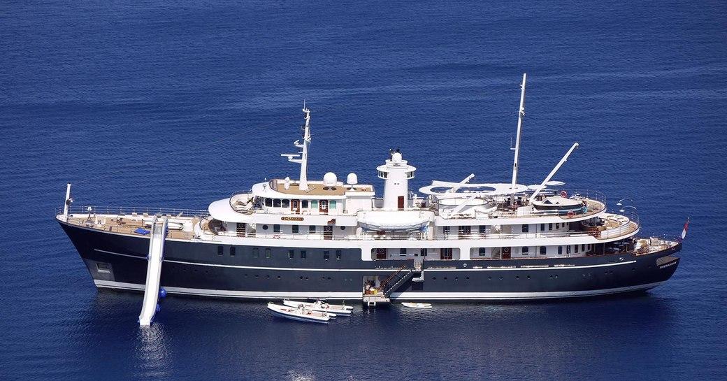 SHERAKHAN makes perfect charter superyacht