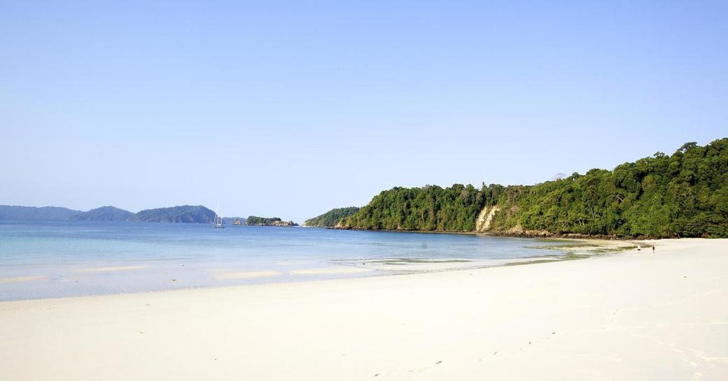 deserted beach myanmar