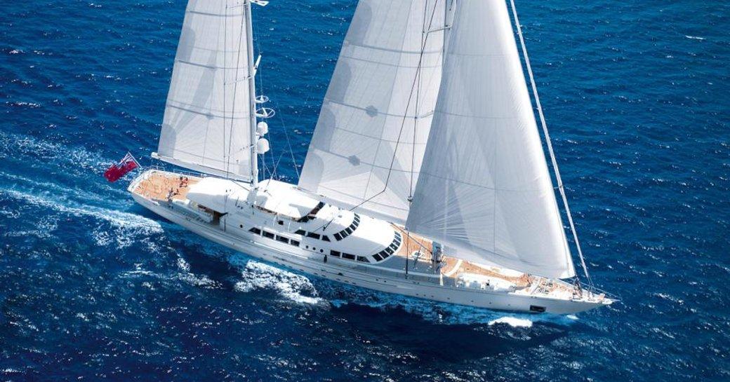 Sailing yacht 'Spirit of the C's' underway