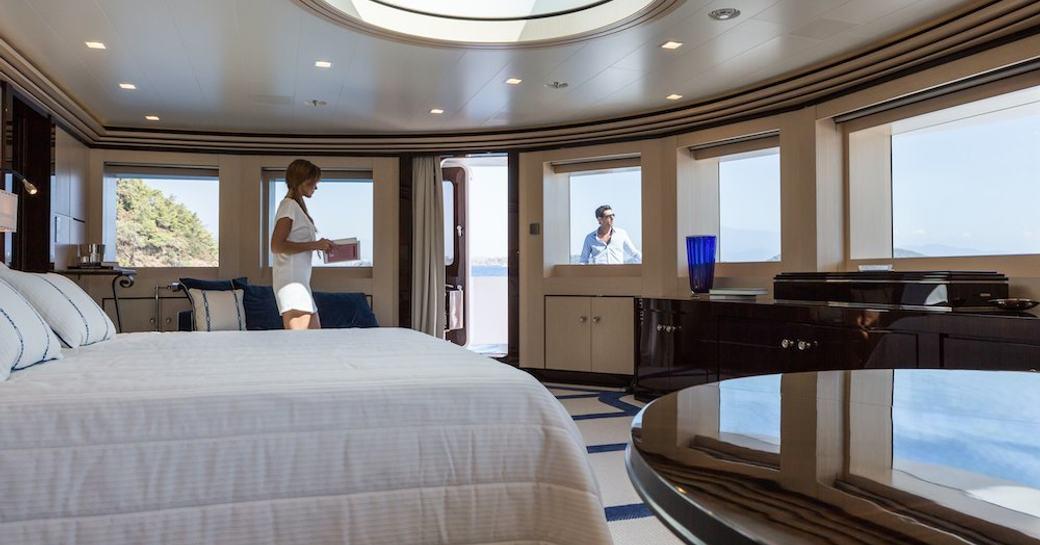 Custom Motor Yacht AXIOMA's bedroom