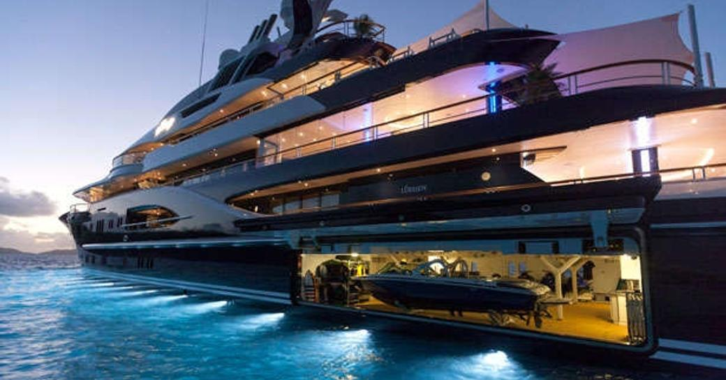 The stunning superyacht SOLANDGE was commissioned by an experienced charterer