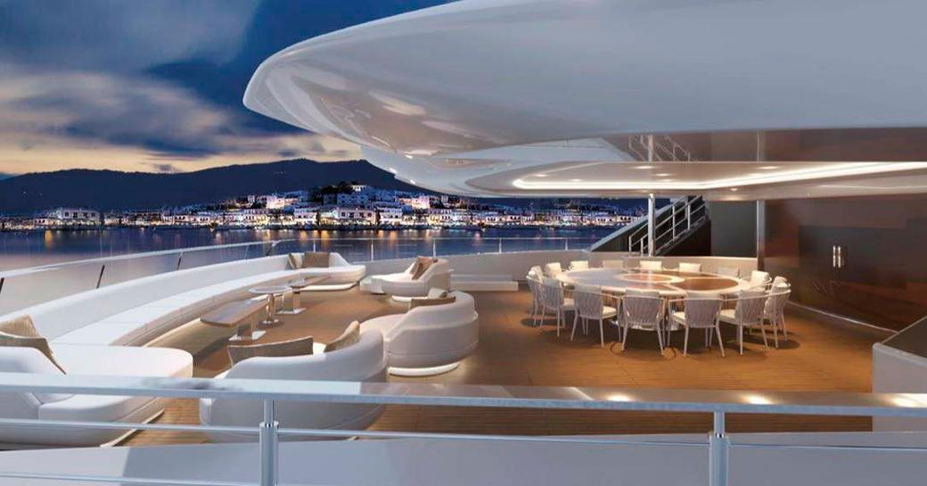 Brand new 95m charter yacht O'PARI on track for 2020 delivery  photo 11