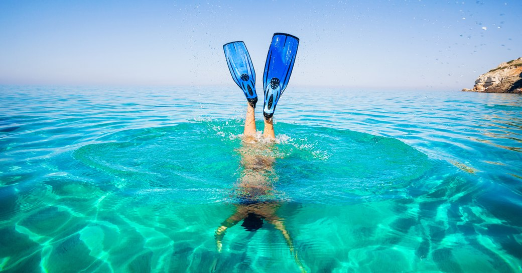 Snorkelling, diving in the Caribbean