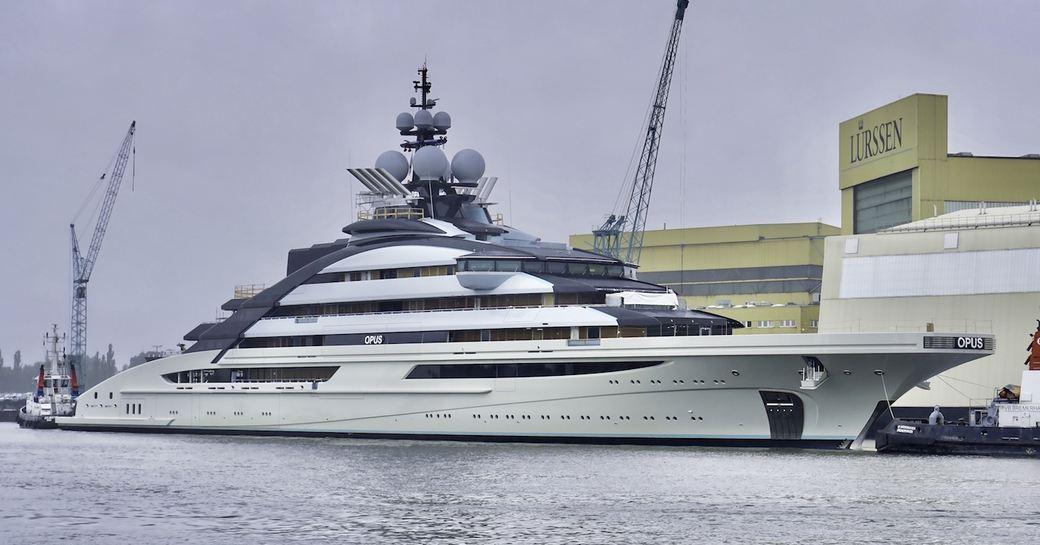 superyacht NORD at Lurssen facilities