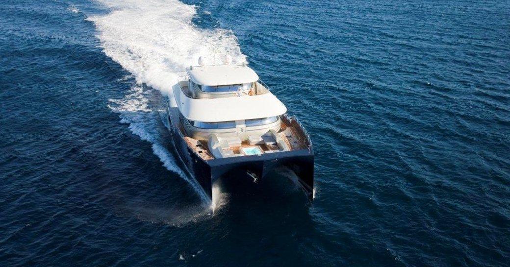 catamaran BRADLEY cruising in turkey
