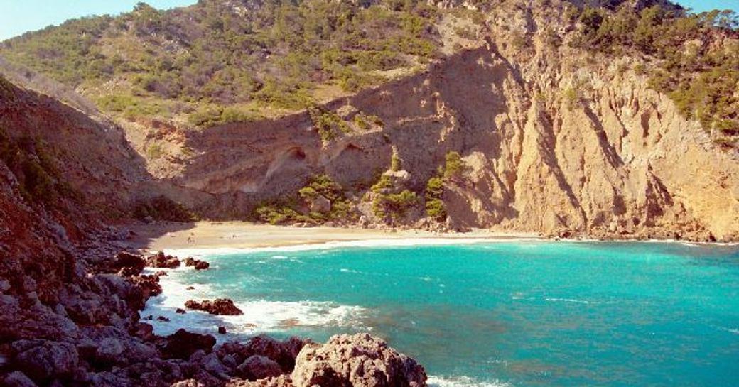 Coll Baix beach in Mallorca in the Balearics