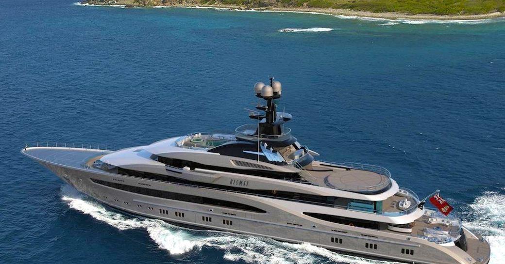 Superyacht KISMET Lurssen Yachts