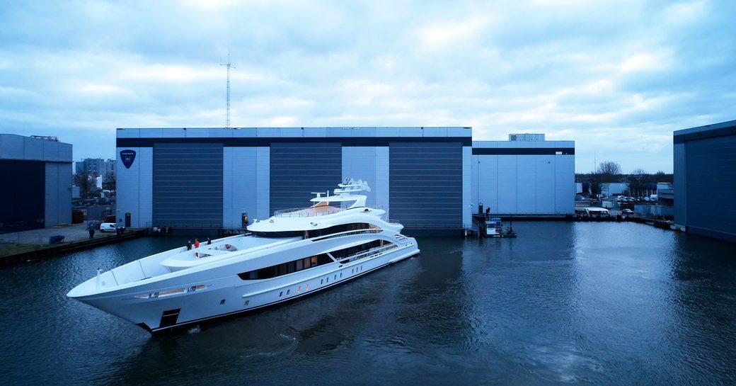 Heesen's 50m Project Triton ready for sea trials photo 10