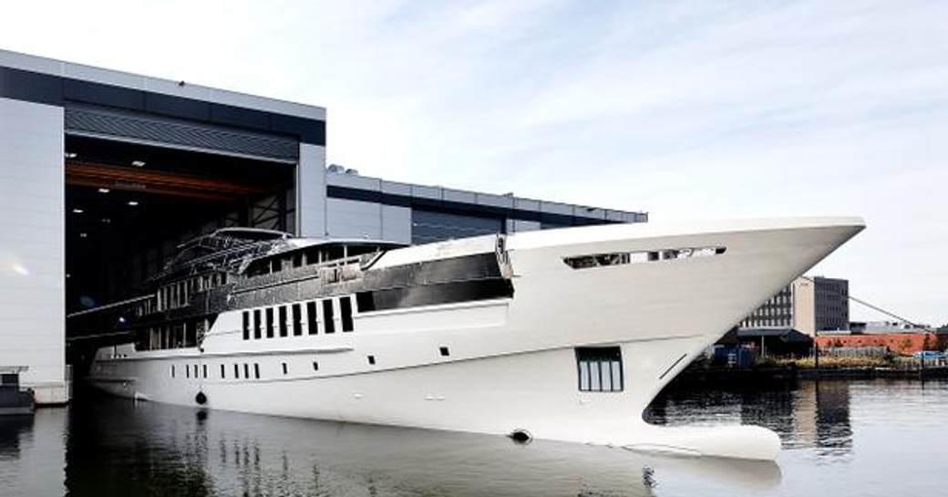 heesen yachts project castor
