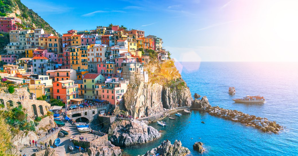 Popular charter destination of Italy