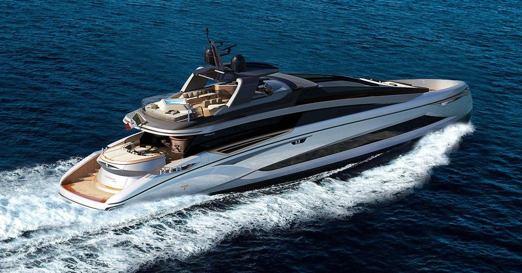 luxury superyacht adamas 6 underway