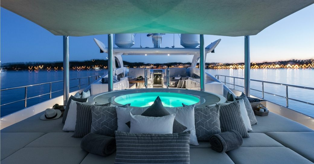 A First Look At The Refit Of Charter Yacht DESTINY photo 5