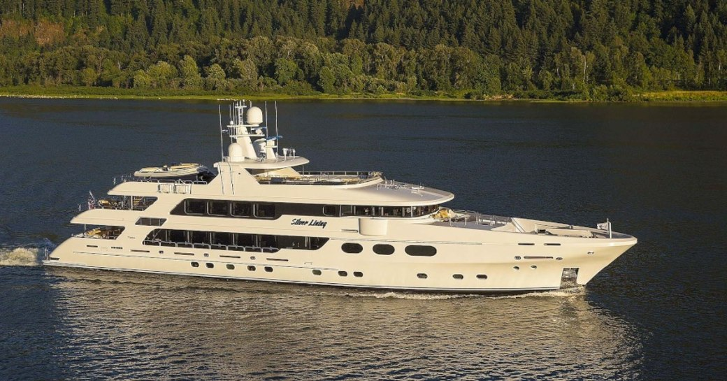 superyacht Silver Lining will attend the Palm Beach Boat Show 2018