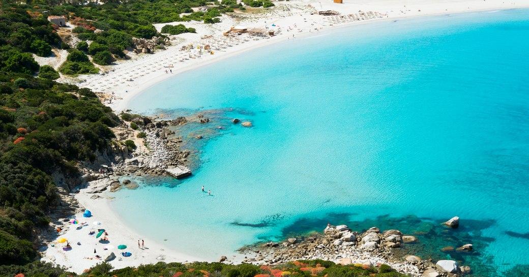 Capo Carbonara, a marine sanctuary in Sardinia.