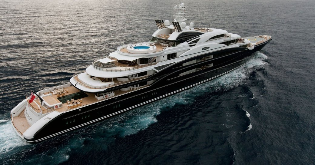 Superyacht SERENE is one of the largest yachts in the world