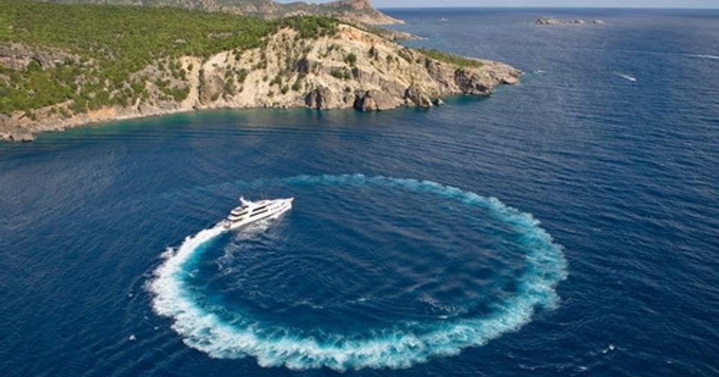 Motor yacht ROCKSTAR is a popular charter yacht