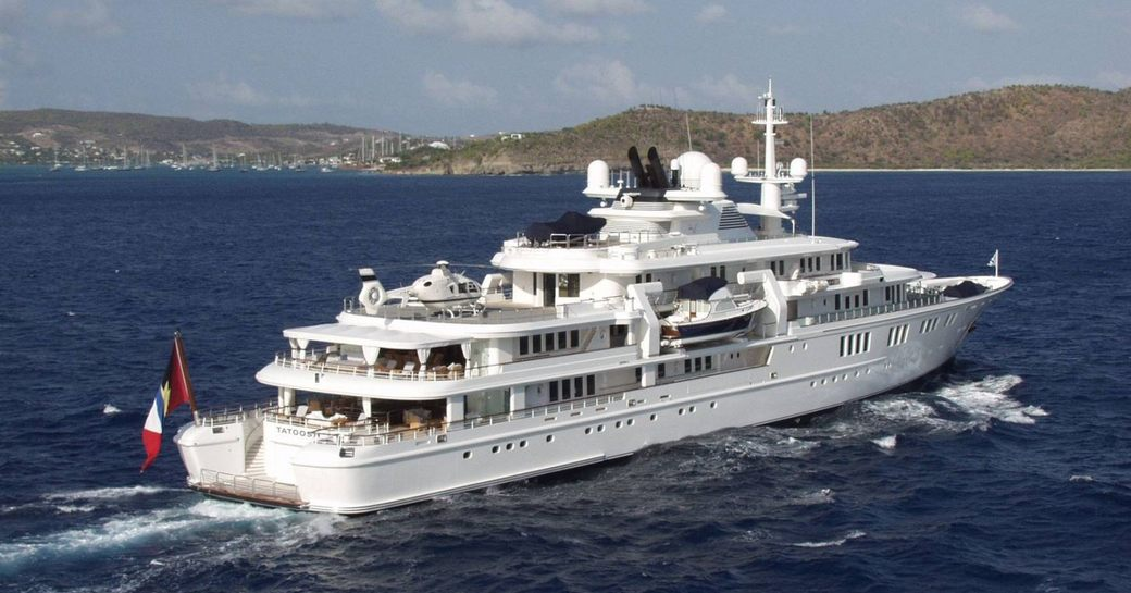 superyacht TATOOSH owned by Microsoft co-founder Paul Allen