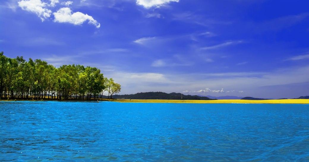 Myanmar lagoon