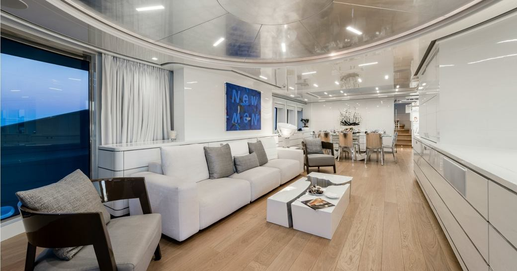 A First Look At The Refit Of Charter Yacht DESTINY photo 1