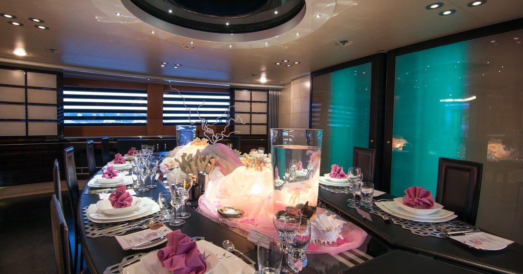 Charter Yacht 'Maltese Falcon' Wins Prestigious Table Setting Competition photo 1