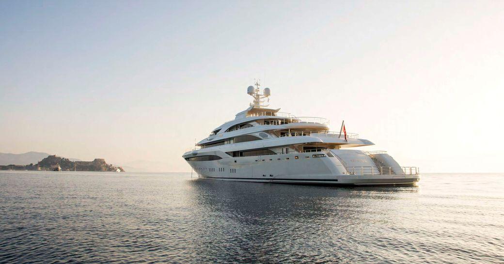 Golden Yachts superyacht O'PTASIA underway