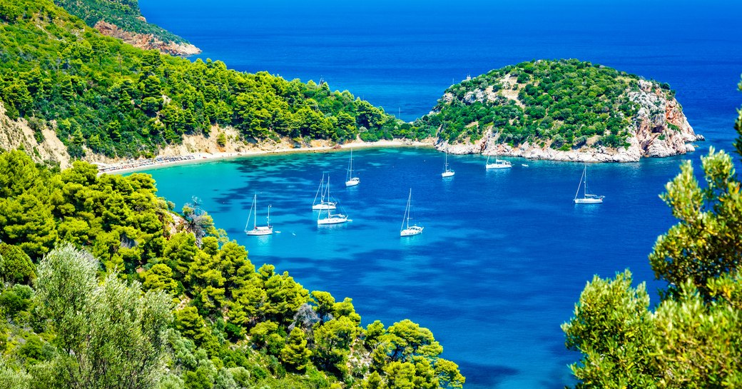 Sporades island in Greece