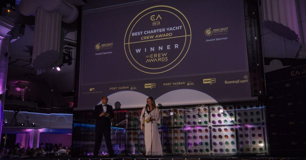 Charter yachts steal the show at 2018 International Crew Awards  photo 1