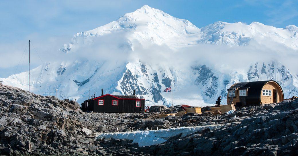 Village in Antarctica