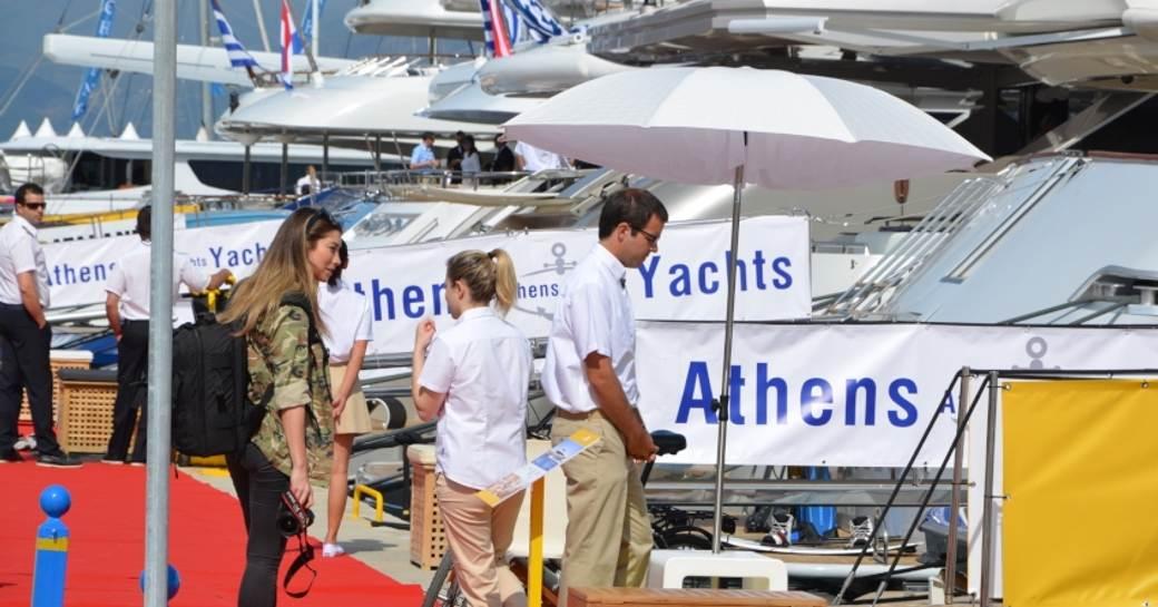 Athens Yachts charter fleet at MEDYS 2014