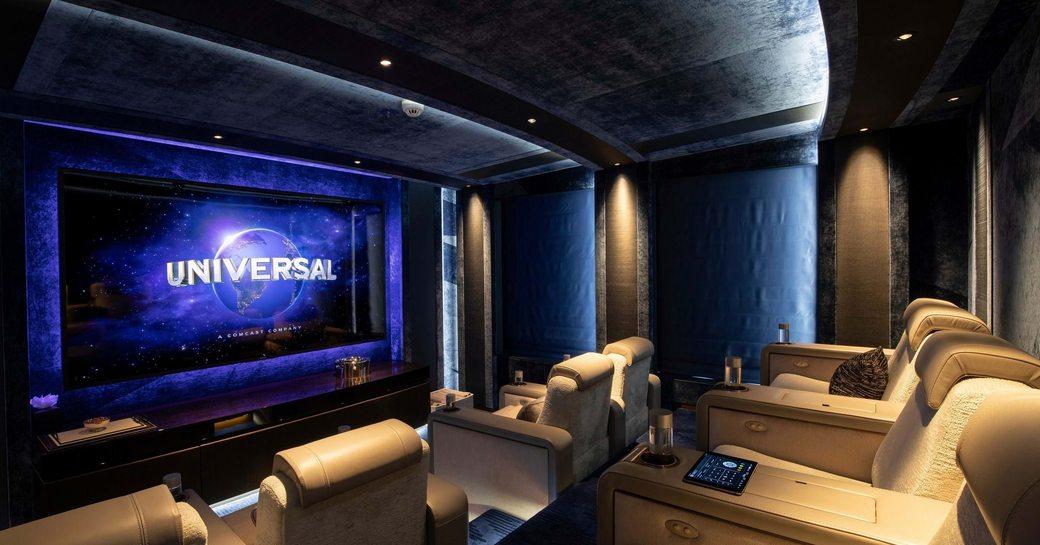 hasna yacht cinema suite