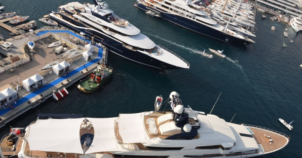 Some of the largest superyachts in the world were on display at the 2014 Monaco Yacht Show